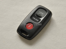 Replacement Case For 2+1 Buttons Mazda Remote Control Key Shell 3 Buttons(China)