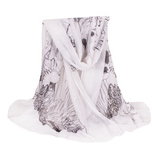 New Arrive Female Plus Size 100% Polyester Shawl Women Skull Scarf Autumn Winter Style Shawls and Scarves 180*110cm No.040202109