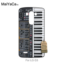 Plastic PC Cell Phone For LG G3 case  Keyboard Synthesizer Music