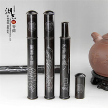Ebony inlaid carved silver joss stick with cone incense aloes cylinder teachers appliances wholesale custom manufacturer