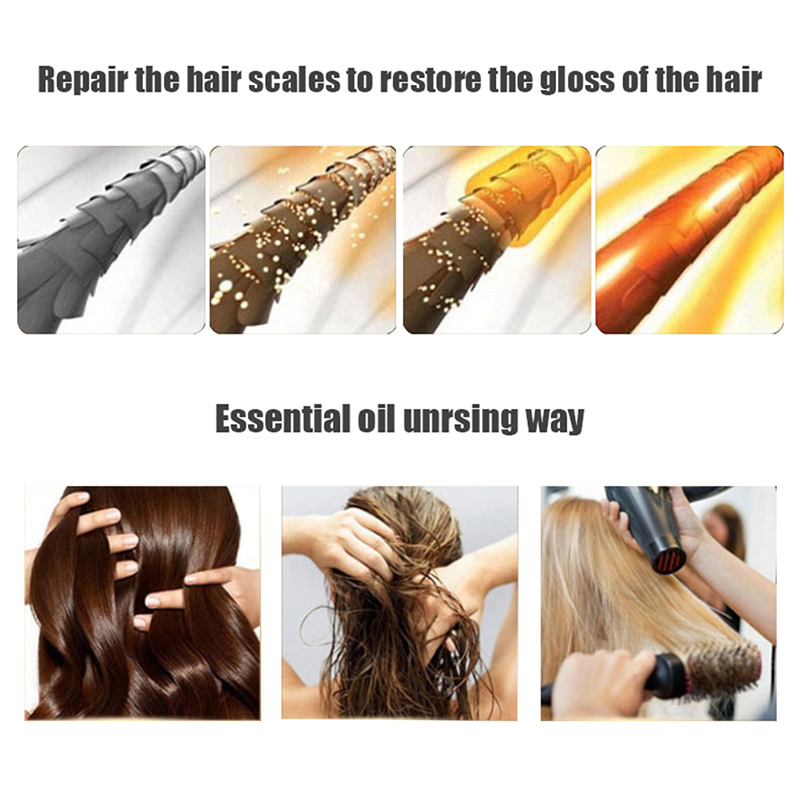 Natural Damage Repairing Ginger Hair Loss Products Hair Growth Hair Care Oil Beauty Women Products 7