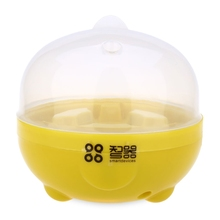 Practical Mini Electric Egg Boiler for Home Kitchen Eggs Cooker Steamer with Auto Power-off Function Kitchen Tool Egg Boiling