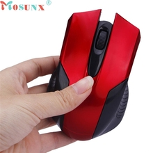 mosunx Best Mecall Tech Adjustable 1600DPI 2.4G Optical Wireless Mouse Mice For Laptop PC