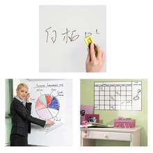 1PC 45*60cm Magic Whiteboard Office Study Decor Vinyl Removable Wall Sticker Erasable White Board Home Office School Decor(China)