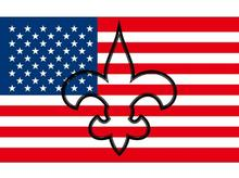 3x5 ft Hollow Out Shape with USA New Orleans Saints flag with 100D Polyester digital print