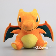 "Anime X Y Mega Charizard Y Lizardon Figure Plush Doll Rare Soft Toy 10"" 26 CM Children Gift"