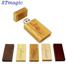 STmagic клена логотип флешки 4 ГБ 8 ГБ 16 ГБ 32 ГБ 64 ГБ usb2.0 usb Flash Drive(China)