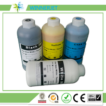 for epson printers shell textile ink for epson F2000 dtg ink 1000ml (K C M Y WH WH *6 colors)