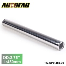 "70mm 2.75""Aluminum Exhaust/Downpipe/Intercooler DIY Piping Pipe Straight L :450 mm For Honda Accord 03-05 TK-UP0-450-70"