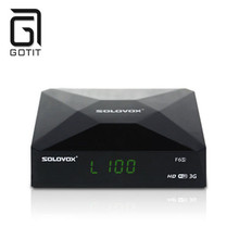 SOLOVOX F6S DVB-S2 Satellite Receiver Box Receptor Support 2USB WEB TV Card Sharing CCCAM/NEWCAM Youporn Set Top Box