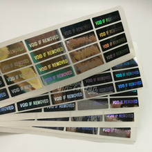 100pcs Hologram VOID IF REMOVED Security Tamper Evident Warranty Stickers(China)