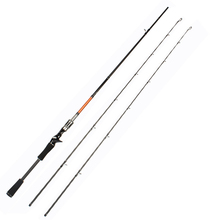 Trulinoya Brand Bait Casting Fishing Rod 2.1M Two Segments Sections Lure Rod M/ML Power Ultra Light Carbon Fiber Fishing Pole