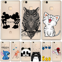 Soft Clear TPU Case For Huawei P8 P9 Lite P10 Plus Mate 9 Nova Y5 II Y6 II Y6 Pro Honor 6X 7 8 4C Cover Silicone Phone Back Skin