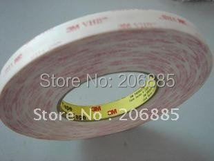 3M VHB 4914 high sticky foam tape/ It can be used outdoors and indoor/15mm*33M/5rolls/lot<br>