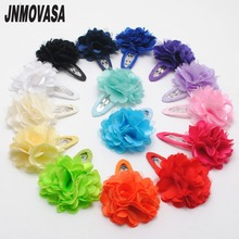 2pcs/lot Girls Hair Clip Band Hairpins Kids Flower Pumpkin Fashion Gift hair accessories