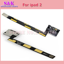 (10 pcs/lot) New Replacement Spare Parts For iPad 2 2nd 3G Wifi Front Camera Flex Cable Ribbon Free shipping