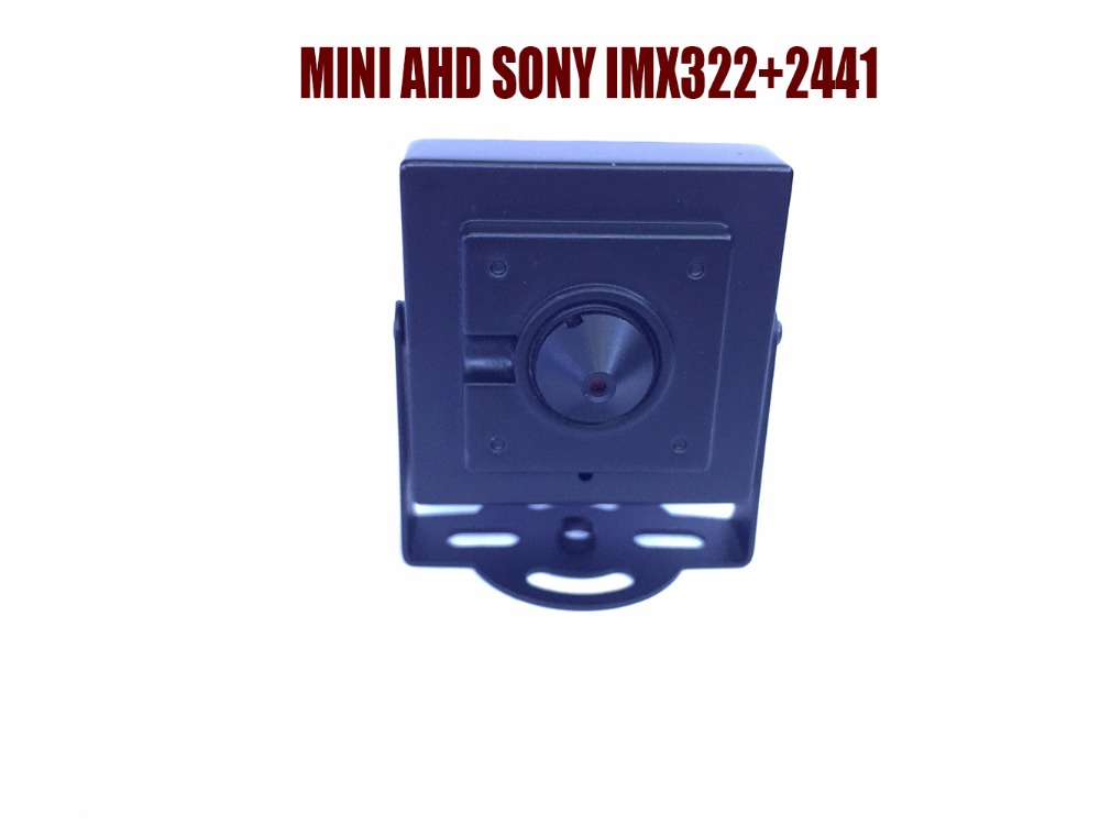 HD Mini AHD1080P Sony IMX322+2441H Analog High definition AHD Camera Home Security Surveillance Indoor cctv camera free shipping<br>