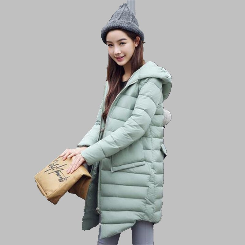 Women Winter Jacket Latest Style Slender Hooded Jacket Large size Leisure Cotton Down jacket Thickening Warm Winter Coat G2804Одежда и ак�е��уары<br><br><br>Aliexpress