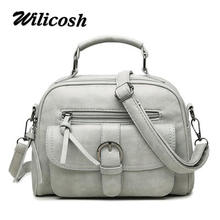 Wilicosh New Brand Designer Women Bag Small Suede Leather Women's Handbags Female Summer Shoulder Messenger Crossbody Bag WL582