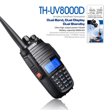 TYT TH-UV8000D Ultra-high 10W Amateur Handheld Transceiver, Dual Band Dual Display Dual Standby Two Way Radio High Quality
