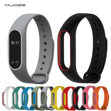 Buy Replace Strap Xiaomi Mi Band 2 MiBand 2 Silicone Wristbands Xiaomi Band 2 Smart Bracelet 15 Color Xiomi Mi Band 2 for $1.38 in AliExpress store