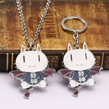 HSIC 1 Anime Pokemon Go Rocket Meowth Alloy Keychains Pocket Monsters Figure Key Ring llaveros 12162 - Store store