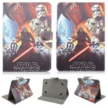 "Star Wars Minifigures Character Funda Tablet 7 Pulgadas 7"" Inch Case Cover For 7"" Toshiba Excite 7 AT7 Tablet"