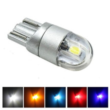 T10 LED SMD 3030 License Plate lamp w5w interior Reading parking dome car light bulbs 12v