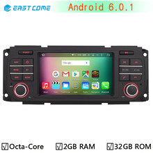 Android 6.0.1 Octa Core 2GB RAM Radio GPS Car DVD Player for Jeep Grand Cherokee 1999-2004 Wrangler Liberty 2003-2006 Head Unit
