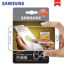 Original SAMSUNG Micro SD Memory Card 128GB EVO+ Plus 256GB 64GB 32GB 16GB Class10 TFCard C10 100MB/S SDXC 64gb For smart phones