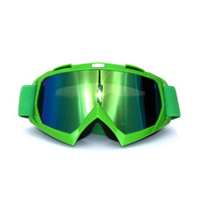 dark green black strip Motorcycle Goggles Glasses Motocross googles Bike Cross Country Flexible Goggles Tinted UV
