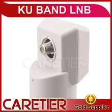 HD Digital KU Band Single LNB Dual Output Ku Band 0.1db KU Universal LNB for Strong Satellite Flat Dish Antenna(China)