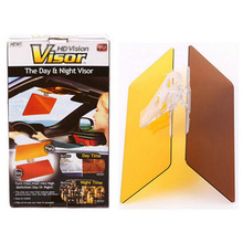 Free Delivery Anti-glare HD Car Sun Visor Auto Anti Dazzling Goggle Day And Night Vision Driving Mirror Sun Visors(China)
