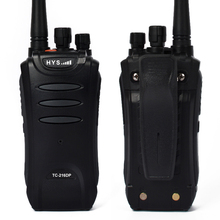 2 pieces/lot  HYS TC-216DP long range walkie talkie Radio UHF 400-470MHz DPMR 2W Digital Dual Band Two Way Radio