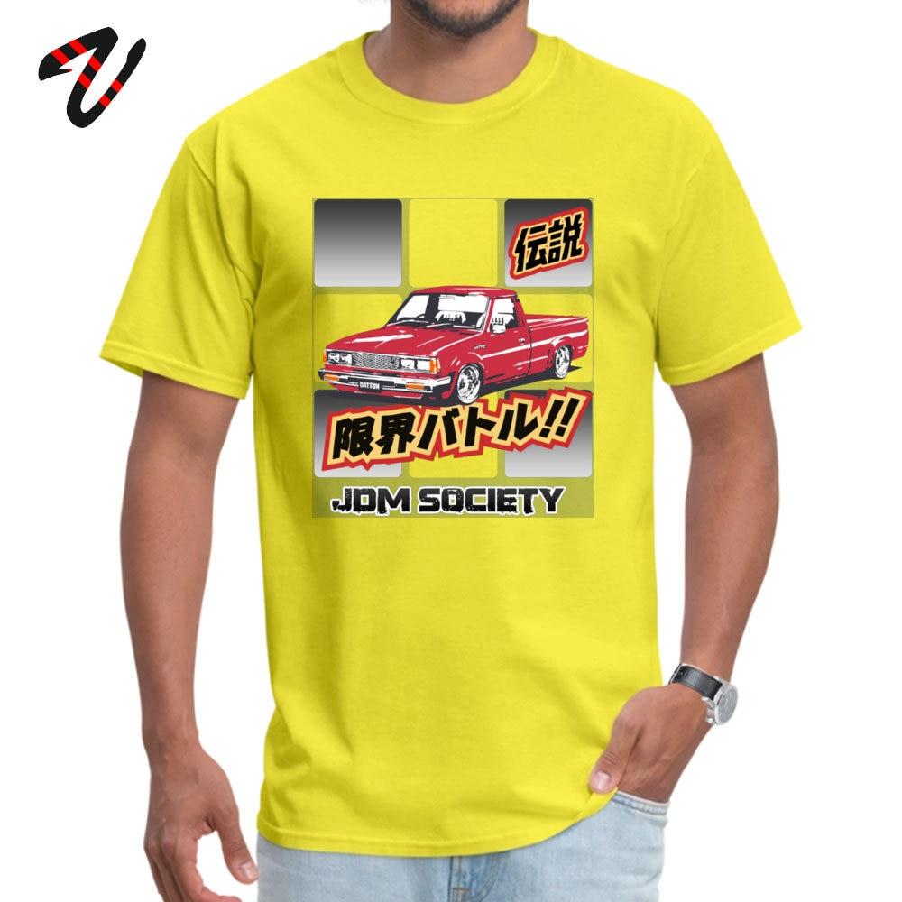Men T-shirts Datsun Leisure Tops Shirts All Cotton O-Neck Short Sleeve Hip hop Tee Shirt Lovers Day Free Shipping Datsun 720 3714 yellow