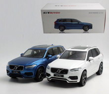 1pcs Volvo XC90 car model toy 1;18 27cm long Welly GTA high quality car model metal rubber material car toy