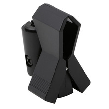 Flexible Microphone Mic Stand Accessory Plastic Clamp Clip Holder Mount Black(China)