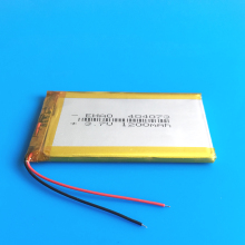 404070 3.7V 1200mAh lithium polymer rechargeable Lipo battery replace for bluetooth GPS wired microphone mobile phone watches