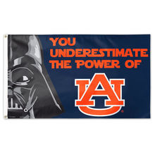 WinCraft Auburn Tigers Star Wars Large Indoor Outdoor Football Flag 3' x 5' Banner metal holes Flag Custom Flag