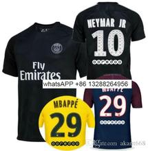 NEW 2018 2019 PSG jersey 18 19 soccer jerseys HOME NEYMAR JR MBAPPE AAA Thai soccer shirt SOCCER shirt(China)