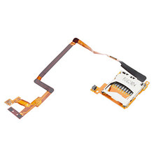 Free Shipping 2pcs/lot Replacement SD Card Slot Flex Cable for Nintendo DS i ND Si