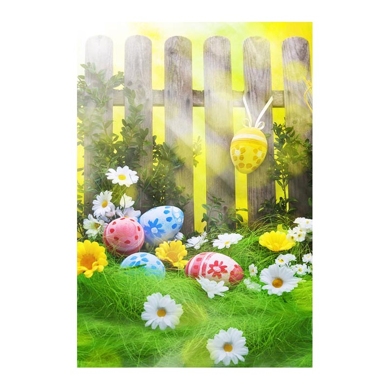 Thin fabric computer Printed photography background Easter eggs blossoms photo backdrop for Studio 5X7ft GE-064<br><br>Aliexpress