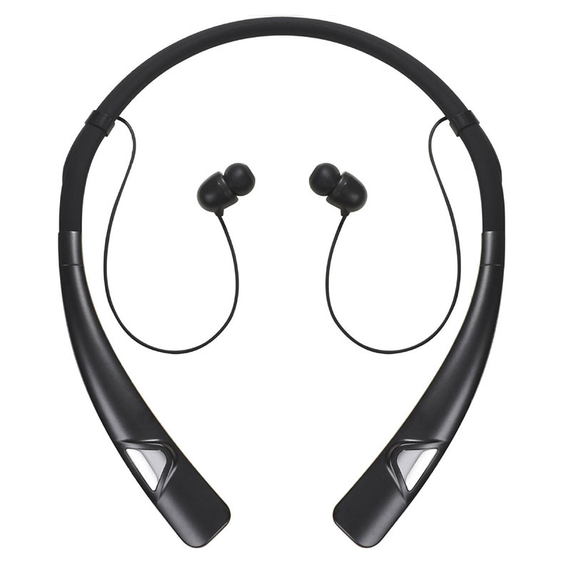 Bluetooth headset neck hanging wireless sports running ears running neck<br>