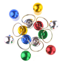 6pcs Waterproof Aluminum Pill Box Case Bottle Cache Drug Holder Keychain Container Black and red gold and silver blue and green