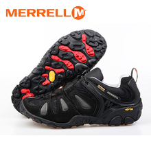 Merrell Men's 2017 Outdoor Sport Unique V Bottom Elastic Band Hiking Shoes Professional For Trekking and Climbing Sneakers 40-44