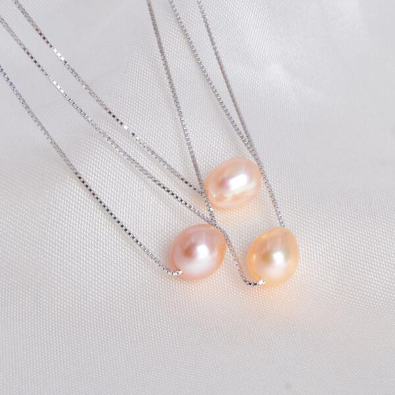 ASHIQI-925-sterling-silver-freshwater-pearl-necklaces-pendant-7-8mm-natural-pearls-jewelry (1)