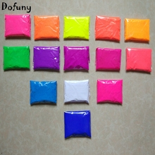 Mixed 14 colors,10g per color Fluorescent Powder Pigment for Paint Printing Soap Neon powder Nail Art Polish,140g/lot