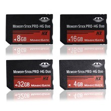 Memory Cards For Sony PSP 4GB 8GB 16GB 32GB Memory Stick MS Pro Duo Memory Card for Sony Tablet Camera DV Handheld Game Players(China)