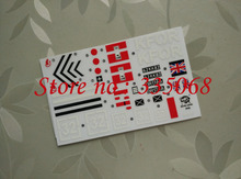 HENG LONG 3908/3908-1 RC tank BRITISH CHALLENGER 2 1/16 spare parts No. TK-PT3908 Sticker(China)