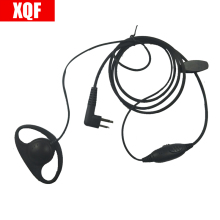 D Earphone Earpiece Headset Mic for Motorola XTN446, XTN500, XTN600 XV1100,XV2100,XV2600 XU1100,XU2100,XU2600 Radio(China)